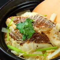【春限定】真鯛の炊き込み飯 と新鮮鮮魚を召し上がれ♪
