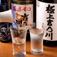 吉乃川や獺祭、スパークリング清酒 澪と厳選日本酒揃っています
