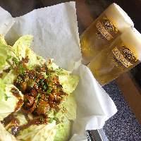 名古屋ならではの『赤味噌とんちゃん』はビールのお供に。