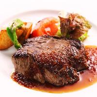 シャトーブリアンのステーキは贅沢の極み