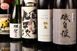 日本酒/ワインなど、美味しいお酒を数多く取り揃えています。