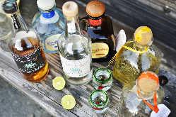 メキシコで作られるお酒達。 豊橋一!?の品揃えです。