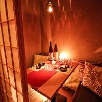 豪華な完全個室。大人数での貸切宴会や団体様の飲み会に最適。