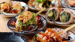 「#野菜巻き串」は見た目にも楽しい!