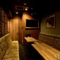 VIPルームにもカラオケを完備。女子会や各種パーティーに最適