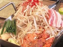 具材たっぷりボリューム満点のチリトリ鍋をぜひご賞味ください!