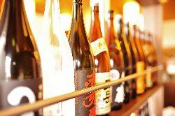 焼酎、日本酒のラインナップ充実!お酒好きは必見です!