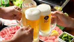 """""""パーフェクト黒ラベル""""に認定!生ビールの美味さにも自信あり"""