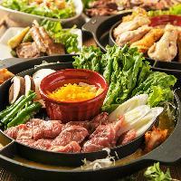 豪快なお肉の料理やバルメニューが豊富