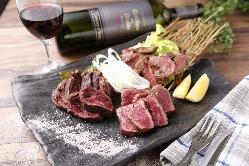 ワインにあうチーズ料理肉料理の数々☆是非カルヴィーノへ♪