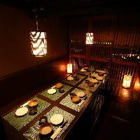 各種宴会や飲み会に少人数個室も♪何名様でも個室にご案内可能!