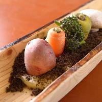 野菜ソムリエ厳選の旬野菜の数々!