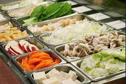 ヘルシーな新鮮野菜ももちろん食べ放題!野菜好きにも嬉しい♪