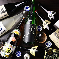 東海地方の地酒を幅広く網羅。銘酒や隠れた名作まで揃います