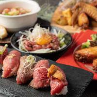 各種宴会に最適なコース料理は飲み放題付4000円~!予約特典あり