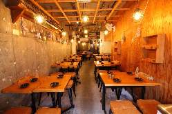 東岡崎徒歩3分のお洒落な空間で、美味しく楽しい一時を!