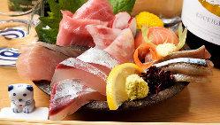 天ぷらから焼き物まで、料理長自慢の魚料理をご堪能ください!
