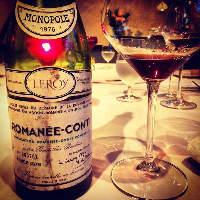ソムリエの資格を持つシェフが厳選したワインはヨーロッパが中心