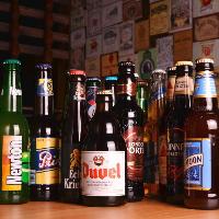 世界中のビールが楽しめます!おすすめは店員まで!