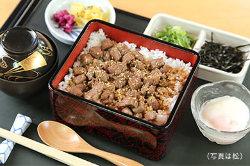 お昼限定「伊賀牛まぶし重」料理のご相談や追加も承ります