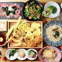 宴会コースは3,000円~ご用意!飲み放題付きでお得!