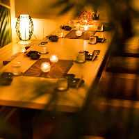 プライベート空間で当店自慢料理をお楽しみください!!