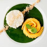 牛ハラミステーキ バジルとパクチーのアジアンソース