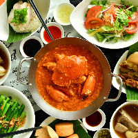 本格的シンガポール料理をご用意