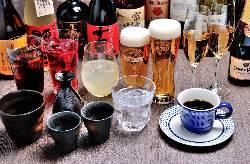 お酒も豊富な種類をご用意。日替わりのおすすめメニューも??