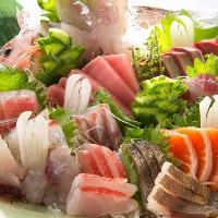 その時々の 全国の旬の魚を毎日市場直送。旨い魚あります。