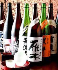 JAZZの流れる空間で、日本酒・ 焼酎をお楽しみ下さい♪