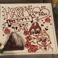 川越で誕生日! 花火付きケーキをご用意