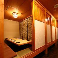 エントランスを通れば東京駅八重洲での隠れ家個室空間です。