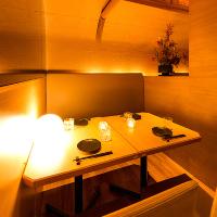 錦糸町駅前の好立地にありながら様々な個室を用意