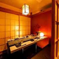 有楽町日比谷【完全個室】落ち着いた雰囲気の個室もございます。