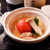 【野菜のおでん】 体にすっと入っていく清澄な味