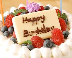 誕生日・歓送迎会には ホールケーキ又はドルチェ盛合せも♪
