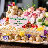 [ケーキ・装花]結婚式二次会や企業交流会も大歓迎です!