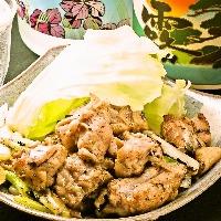 高円寺店の自慢のバラ焼き プリプリのお肉に塩は柚胡椒が絶品!