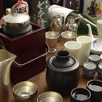 日本酒は「温度」や「酒器」にこだわる事で新しい味になります