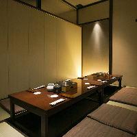 各種個室はプライバシーを重視する接待や会食に最適です