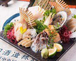貝料理を中心とした『日本酒にあうお料理』をご用意♪