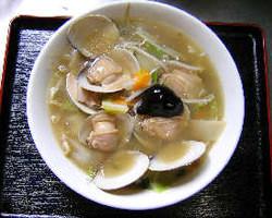 ハマグリ入り野菜タンメン ¥1200