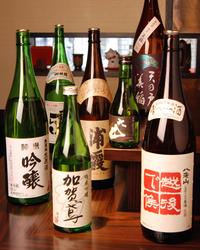 日本酒も季節によって 変えています。