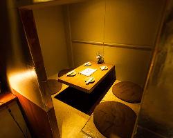 [ご宴会・飲み会に] 4~最大13名様までの個室がございます!