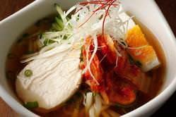 盛岡の太麺、味は★★★!!