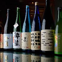 当店自慢の料理と相性抜群!四国の地酒は全17種取り揃え