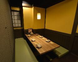 落ち着きのある和空間でのお食事をお楽しみ頂けます。