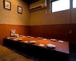 2名様~ご利用頂ける完全個室を完備!3時間飲放付コース3000円
