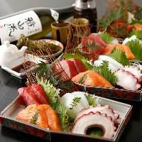 創作料理満載コースは3650円/4150円/4650円コースがございます。